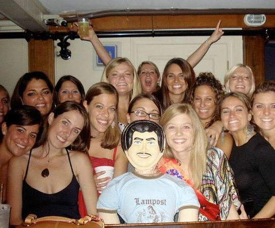 The Lampost/Rare Duck: bachelorette parties!