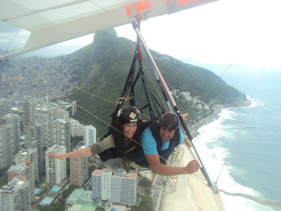 Hang Gliding with Rony of Hilton Fly Rio