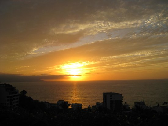 Casa de los Arcos: Stunning sunsets each evening from the Casita