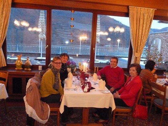 Weinhotel Landsknecht: Het restaurant