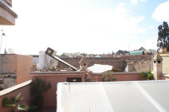 Riad Louaya : Blick vom Dach