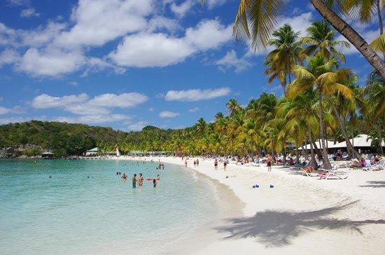 Club Med La Caravelle: La plage de la Caravelle