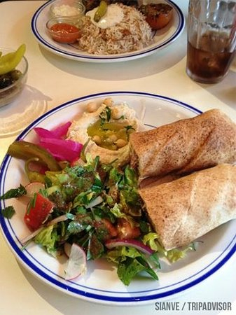 food picture of comptoir libanais london tripadvisor. Black Bedroom Furniture Sets. Home Design Ideas