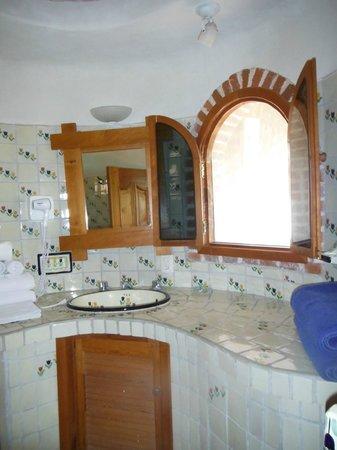 هوتل لا جويا: Salle de bain