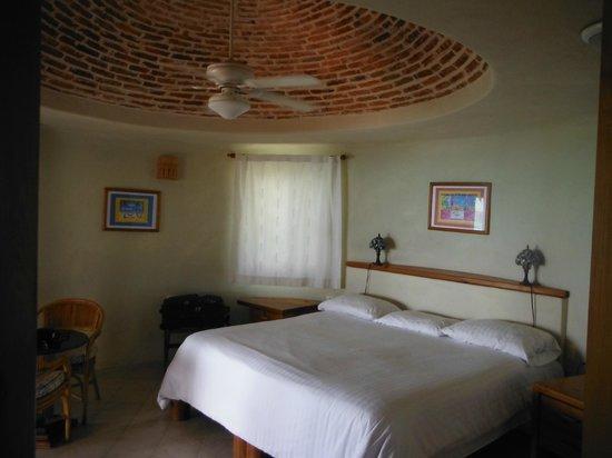 Hotel La Joya: La grande chambre