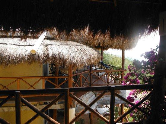 Hotel La Joya: vue de la terasse