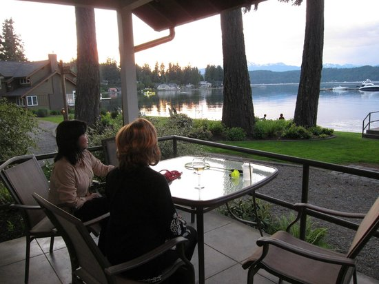 Alderbrook Resort & Spa: View from Cottage