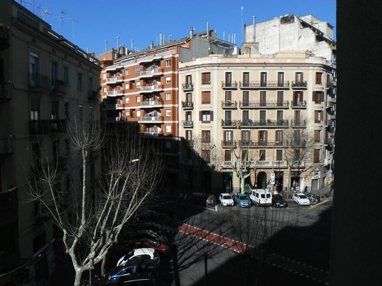 Hotel Aranea: View from room 301