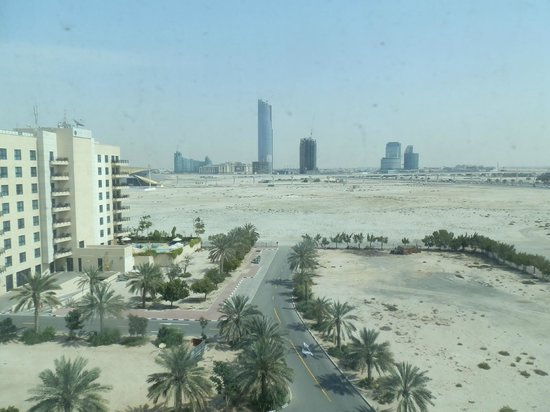 Arabian Park Hotel: View from room 618