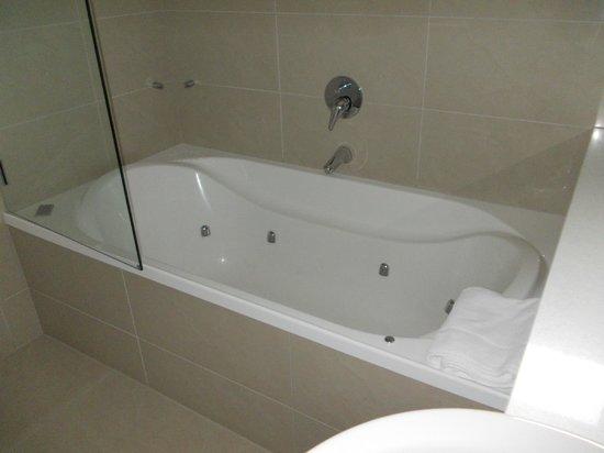 Highfield Mews, Oamaru: Amazing bath/shower