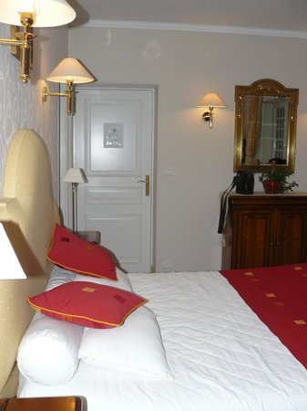 Chateau-Hotel Manoir de Kertalg: Aperçu de la chambre