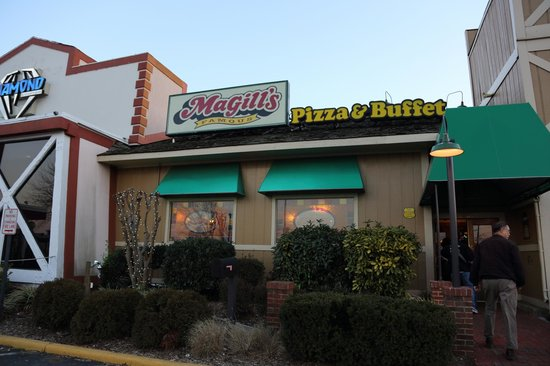 Magill S Famous Pizza Buffet Annandale Menu Prices