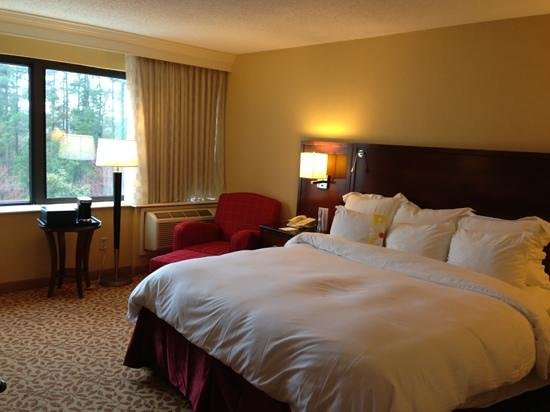 Marriott at Research Triangle Park: king room-412