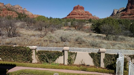Canyon Villa Bed and Breakfast Inn of Sedona: This is their backyard