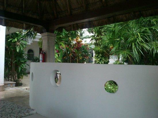 Tropical Escape Hotel: aqui esta el cenote