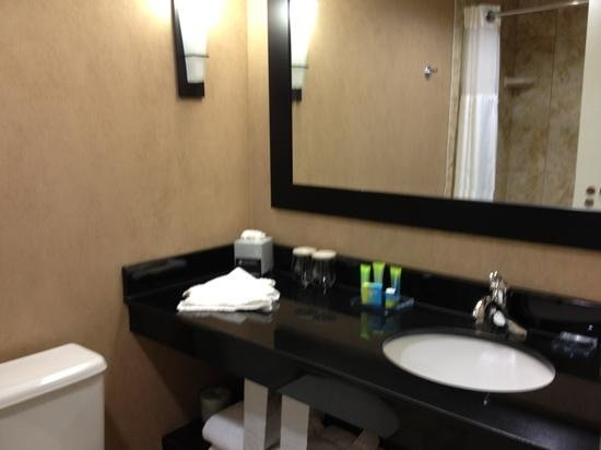Radisson Hotel Fargo: clean bathroom