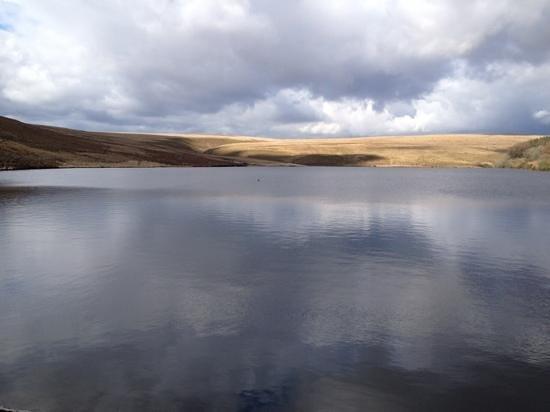 The upper Lliw reservoir