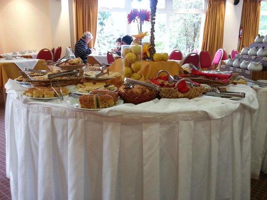 Hotel Villa Huinid Bustillo: Desayuno