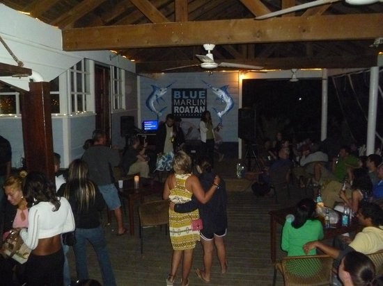 Blue Marlin: karaoke
