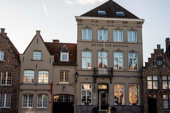 Hotel Ter Duinen: Façade l'hôtel Ter Duinen
