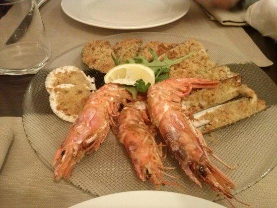 Locanda dell'Edera: pesce gratinato