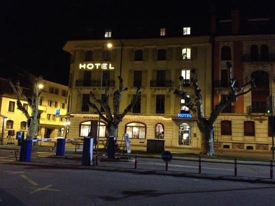 Hôtel des Alpes : hotel des Alpes - Nyon