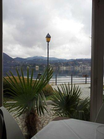 Ristorante Imbarcadero: panorama dalla veranda