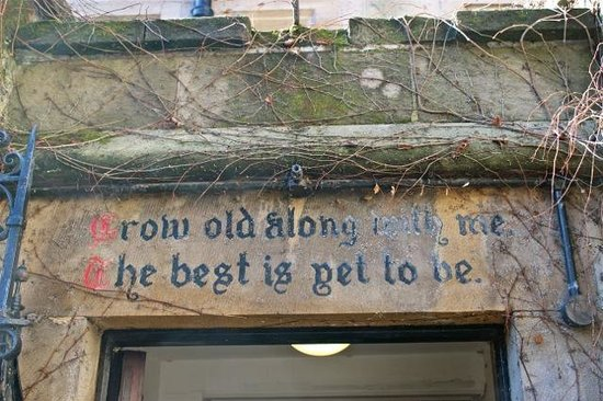 Bagdale No 4 Annex:                   Wise Saying!