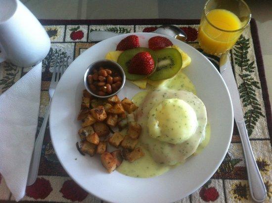 Evasion Gite et Refuges: petit déjeuner !