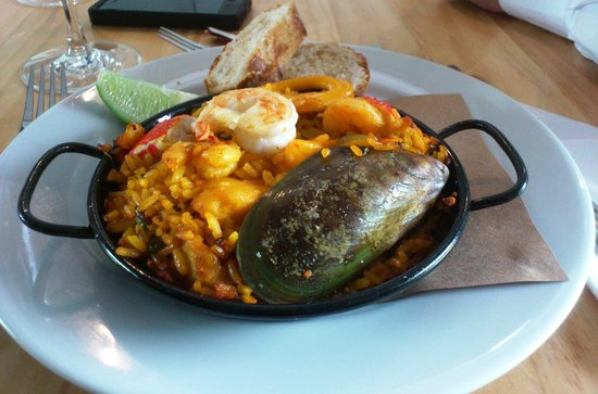 Envigado, Colombia: Paellita marinera