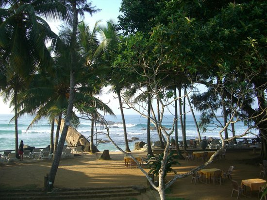 Sri Gemunu Beach Resort: View from room 15