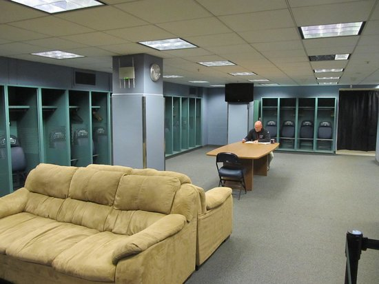 Fenway Park Locker Room