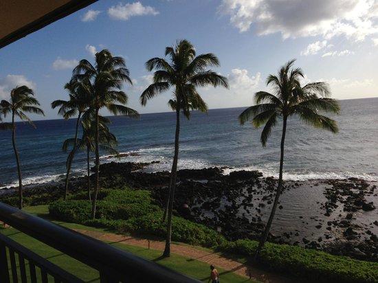 Sheraton Kauai Resort: Balcony view