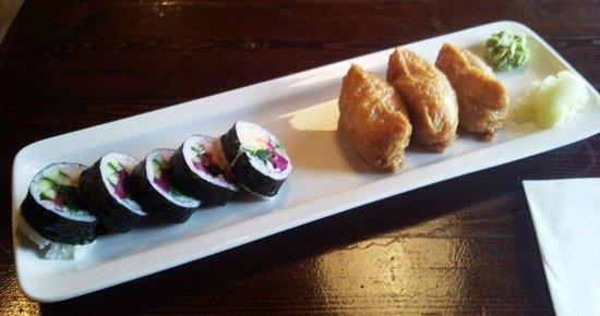 Ginza Japanese Restaurant: Futo Maki & Inari :-)