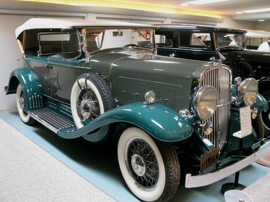 Franklin Museum:                                     franklin car