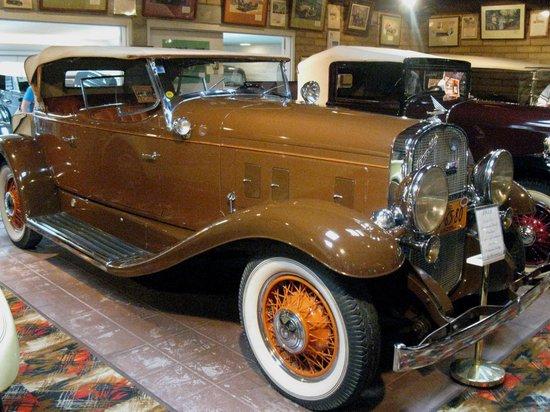 Franklin Museum:                                     franklin car 2