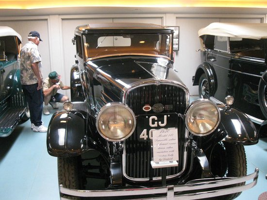 Franklin Museum:                                     franklin car 3
