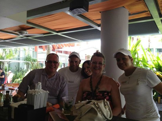 La Concha Renaissance San Juan Resort: Solera - a favorite place