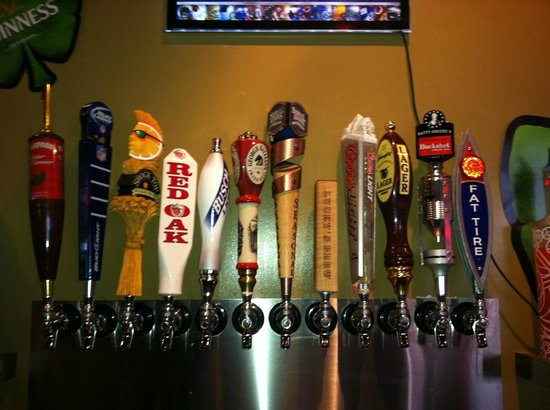 Lucky's Burger-N-Tap:                   beer selection