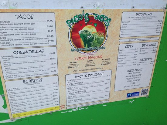 Paco S Mexican Food