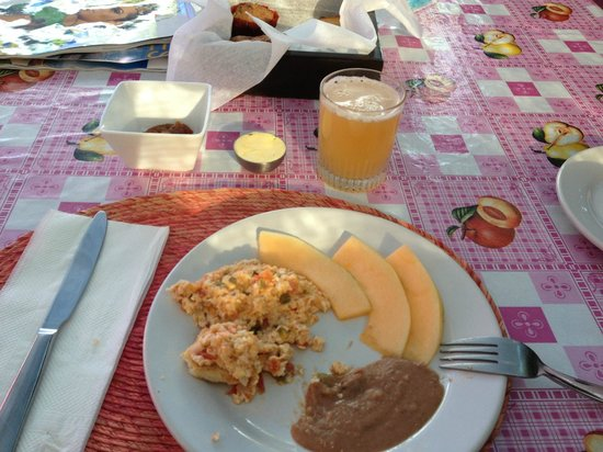 The Hotelito : Mexican Eggs for breakfast