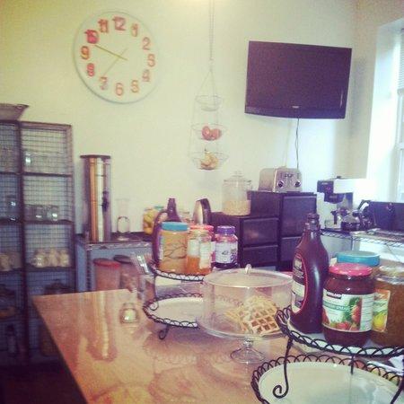 American Dream Hostel : Kitchen