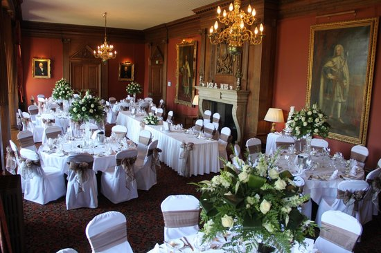 Crathorne Hall Hotel: wedding breakfast area