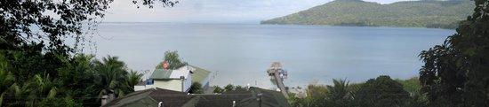 La Mansion del Pajaro Serpiente: View from room - lago peten itza