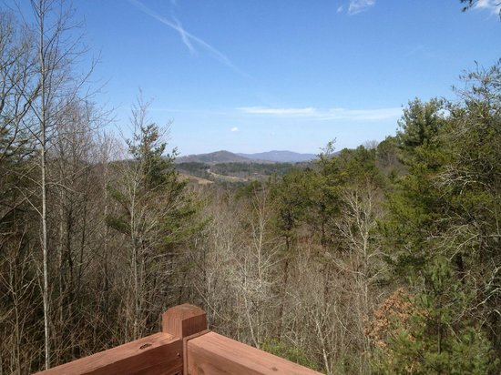 Above the Rest Cabins: Balcony View - Unbridled Faith