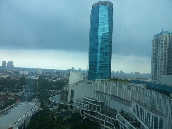 Pullman Jakarta Central Park:                   View from room