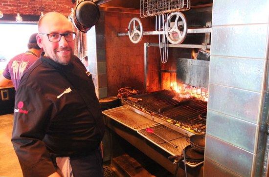 Ox Restaurant Chef Greg Denton Wood Fired Grill