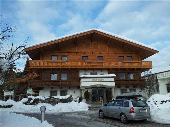 Hotel Peternhof: Eines der wenigen Gebäude im alpinen Stil