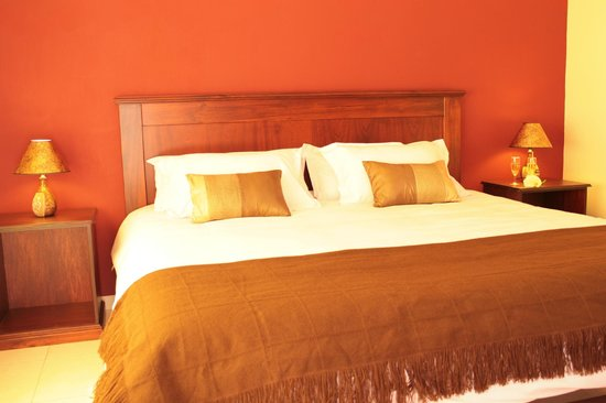San Andres Lodge & Spa: Double room - king bed