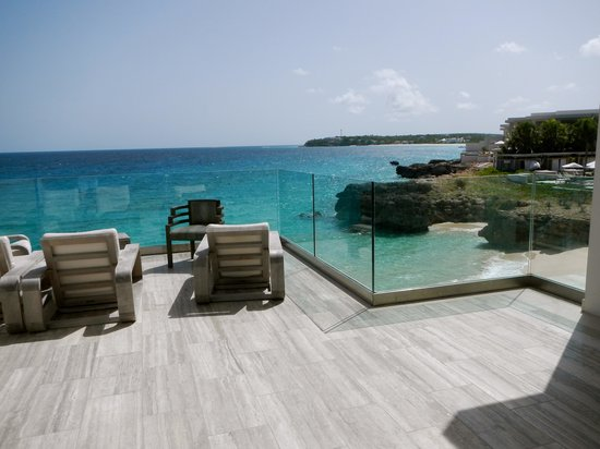 Viceroy Anguilla: A view from our favorite spot, just south of the Coba restaraunt